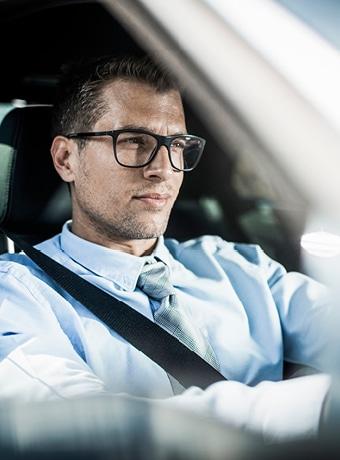 Brilleglas til bilkørsel