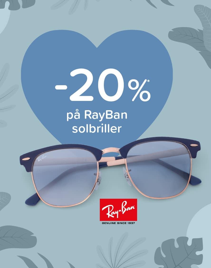 Op til -30% på solbriller